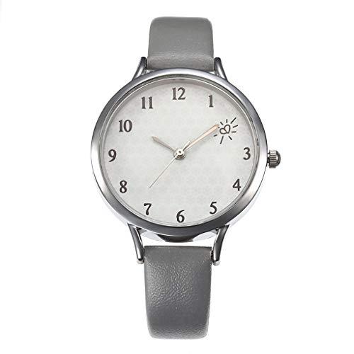 UINGKID Damen Armbanduhr Analog Quarz Einfache Gürteluhr Weibliche Modelle Digitalwaage Quarz Uhr Kh037 Serie