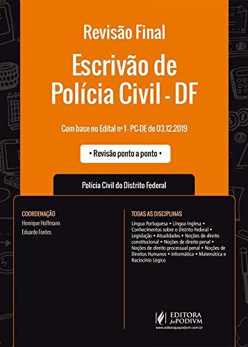 Revisão Final - Escrivão de Polícia Civil - DF