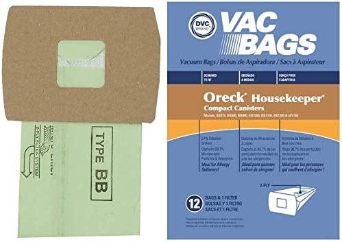 DVC Regular store Paper Replacement Vacuum Bags Style Oreck Max 51% OFF Buster Fit BB B
