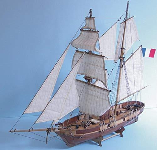 SIourso Maquetas De Barcos Kit Modello Maqueta Escala 1/55