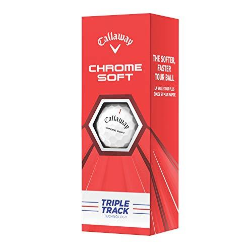 Callaway Chrome Soft 2020 Triple Track Technology - Manga de 3 bolas
