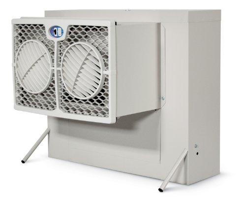 Phoenix Manufacturing WH2906 Slim Line Evaporative Window Cooling Unit with 500 Square Feet Cooling Capacity