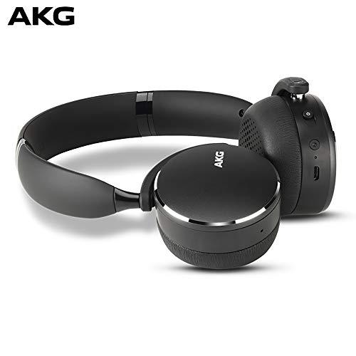 AKG Y500 On-Ear Foldable Wireless Bluetooth Headphones