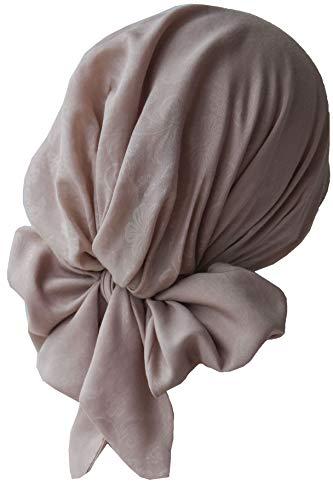 Deresina Pre-tie Ultraweiches Kopftuch Aus Baumwolle für Chemotherapie (Beige)