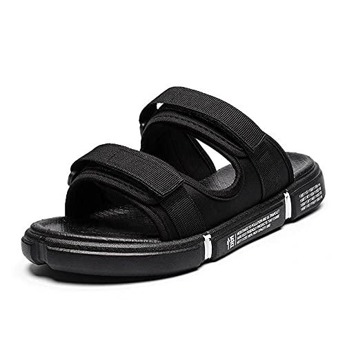 MLLM Calzado para la Artritis Edema,Magia Puesta en la Playa Zapatos, Sandalias Casuales y Pantuflas-Negro_42,Zapatos de Edema de Artritis diabética