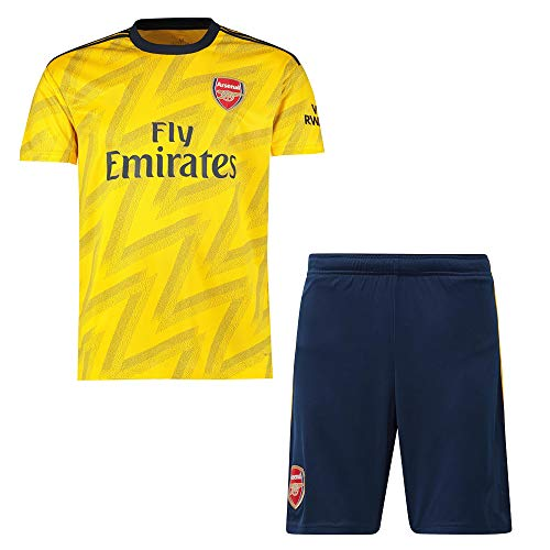 2018-2019/2019-2020 UEFA Personalisiertes Fußball Fussball Trikots für Kinder/Herren/Damen/Erwachsene - Personalisierte Club Team Fußball T-Shirt & Shorts mit Namen + Nummer (Socken Senden)