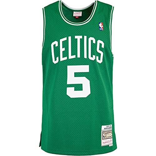 Mitchell & Ness Swingman Kevin Garnett Boston Celtics 07/08 Trikot (XXL, Green)