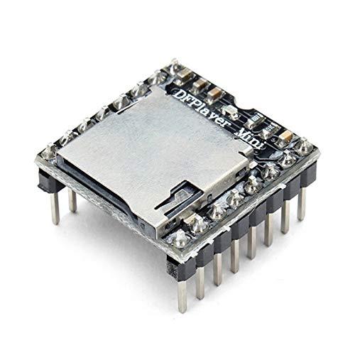 HUANRUOBAIHUO-HAT 1Pcs / 2Pcs / 4Pcs MP3-Player-Modul for Arduino for RC-Teile Quadrocopter Zubehör (Color : 1pcs)