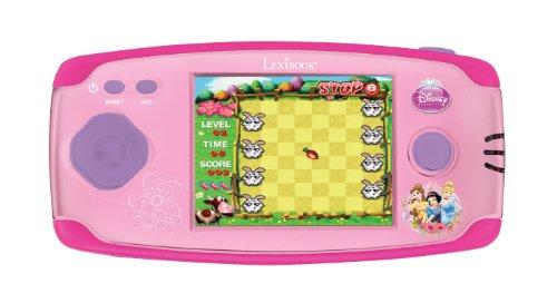 Lexibook Disney Prinzessinnen–Compact Cyber Arcade, Rosa JL2360DP-1