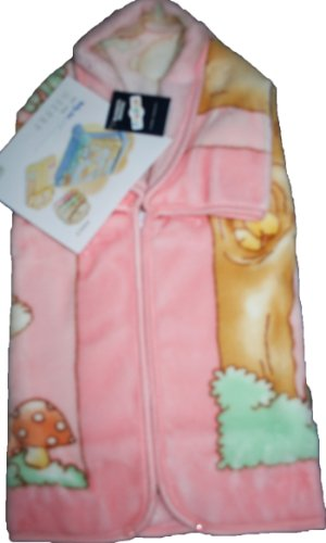 Decke Größe Bebe–Baby Tasche Wunderkind 117–THEME balancoire Rosa