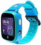 SoyMomo Space 4G - Reloj GPS para niños 4G - Reloj teléfono para niños - Smartwatch 4G con GPS para niños (Azul)