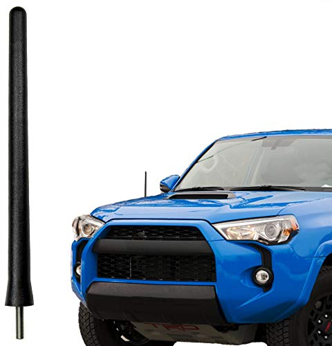 AntennaMastsRus - The Original 6 3/4 Inch is Compatible with Toyota 4 Runner (2010-2017) - Car Wash Proof Short Rubber Antenna - Internal Copper Coil - Premium Reception - German Engineered