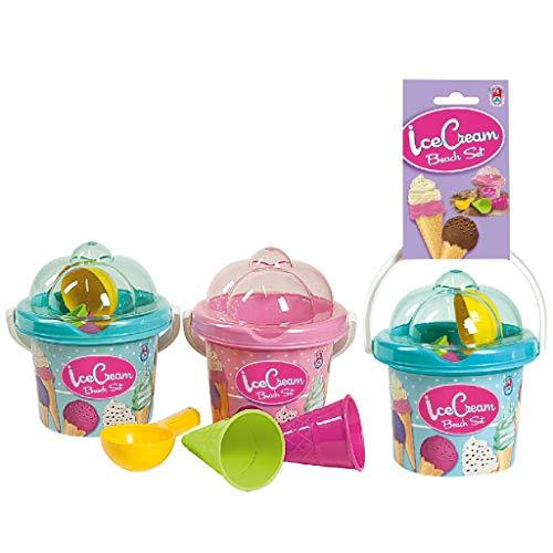 Ak Sport - 0732152 - Bac À Sable - Set Seaux Ice Cream
