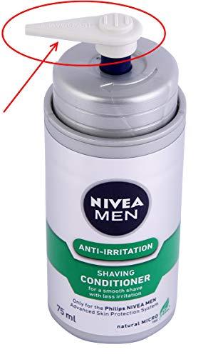 Neu: Dispenser für HS800 (NIVEA for Men Rasieremulsion), alternative für HQ170 & HQ171 NIVEA for Men Ersatzkartuschen Philips Coolskin Rasierer, (HS-800 nicht enthalten, separat Kaufen)