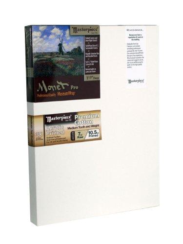 "Masterpiece Artist Canvas 43024 Monet PRO 1-1/2"" Deep, 10"" x 10"", Cotton 10.5oz -"