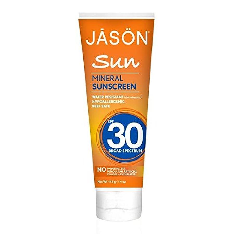 三復讐無人Jason Mineral Sunblock SPF30 113g (Pack of 6) - ジェイソン?ミネラル日焼け止め30の113グラム x6 [並行輸入品]