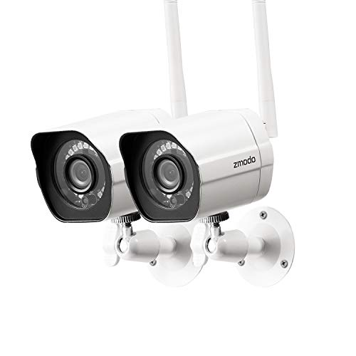 Zmodo Outdoor Camera Wireless, 1080p Security Camera Wireless