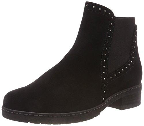 Gabor Shoes Damen Comfort Sport Stiefeletten, Schwarz (Schwarz (Micro) 47), 37.5 EU