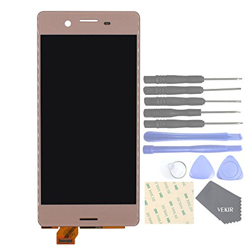 VEKIR Touch Display Digitizer Screen Replacement para Sony Xperia X F5121 F5121 F5122(Rose Gold)