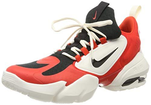 Nike Herren Air Max Alpha Savage Laufschuhe, Rot (Habanero/Black-Pale Ivory 301), 45.5 EU