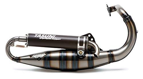 Yasuni Topf Roller R von Anpass. Trekker/Speedfight/Vivacity Auspuffanlage Schwarz