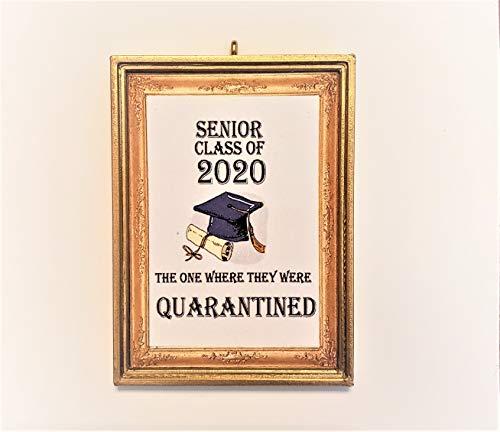 Senior Class Of 2020 The One Where They Were Quarantined Christmas Tree Ornament Covid-19 Coronavirus Corona Virus
