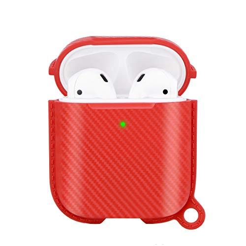 Airpods Schutzhülle Hülle Kompatibel mit Apple Airpods Hülle 1 & 2 für kabelloses Aufladen Hülle für Vollschutzhüllen Zubehör