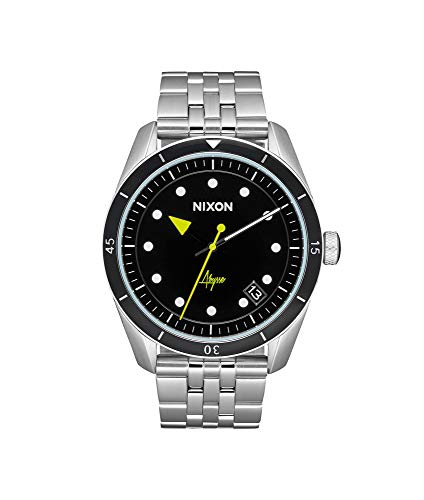 Nixon Damen Analog Quarz Smart Watch Armbanduhr mit Edelstahl Armband A1237-2971-00