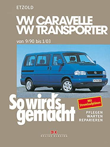 VW Caravelle / Transporter T4 van 9/90 tot 1/03: Zo werkt het - Volume 75