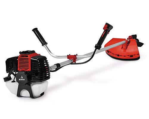 Aimex Heavy Duty Petrol Brush Cutter, Grass Cutter with 52Cc...