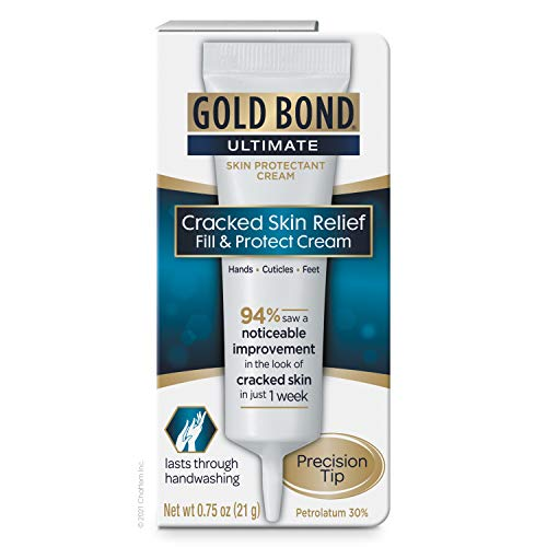 Gold Bond Ultimate Cracked Skin Relief Fill & Protect Cream, Precision Tip, 0.75 Oz