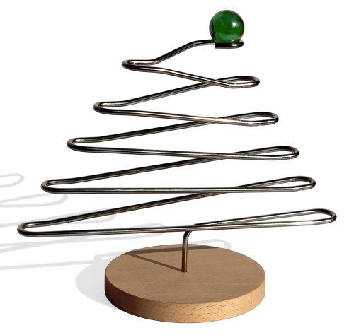 mabro Tannenbaum - Kugelbahn Spielzeug für das Büro, dekorativ