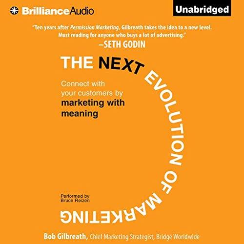 The Next Evolution of Marketing audiobook cover art