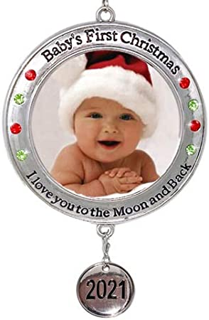 Santa badge stocking filler gift for newborn Baby/'s first Christmas 2020