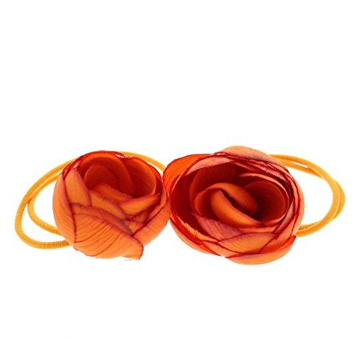 ZAC de Alter Ego® Paire de tissu doux rose fleurs sur double élastique