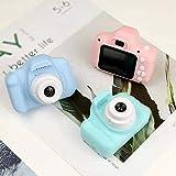 Rouku Camera X2 Cámara Digital para niños, cámara de Fotos y Video, Regalos para niños Tarjeta de Memoria Compatible con Mini cámara (Azul)