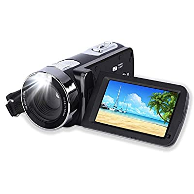 """Video CameraVideo Camera Camcorder CamKing HDV-312 24MP HD 1080P 16X Digital Zoom Video Camcorder with 3.0"""" LCD and 270 Degree Rotation Screen from CamKing"""
