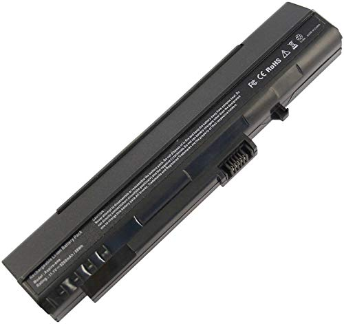 onlyguo 11.1V 5200MAH UM08A31 UM08A32 UM08A51 UM08A52 UM08A71 UM08A72 UM08A73 UM08A74 Reemplazo de batería del portátil para Acer Aspire One Acer LC.BTP00.017 LC.BTP00.043 LC.BTP00.046