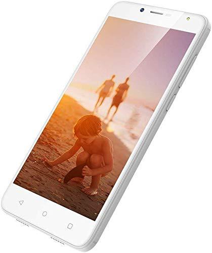 3G Dual SIM Handy Ohne Vertrag günstig Neu 5,5 Zoll, 1GB+8GB, Android Smartphone Ohne Vertrag Günstig, 8MP+5MP Kamera, HD 1280 * 720, 2970mAh Smartphone Dual SIM Wieppo S6 Lite Weiß