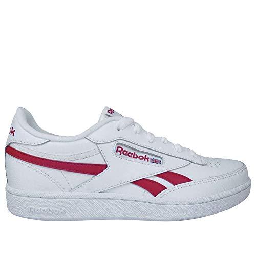 Reebok Club C Revenge Shoe - Men's Casual White/Primal Red