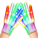 Toys for 8-12 Year Old Boys Girls Teens, Touber LED Skeleton Gloves Gifts for 7-13 Year Old Boys...