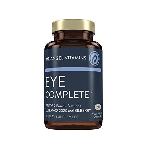 Mt. Angel Vitamins - Eye Complete with LUTEMAX 2020, NAC, L-Glutathione, Vitamins A,C,E Zinc & Copper
