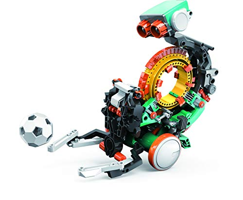"Elenco Teach Tech ""Mech-5"", Programmable Mechanical Robot Coding Kit, STEM Building Toy for Kids..."