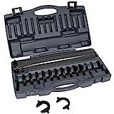 Lisle 58100 Inner Tie Rod Tool Set, 12 Pc