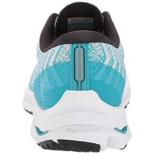 Mizuno womens Wave Rider 24 Waveknit Running Shoe, Nimbus Cloud-phantom, 9.5 US