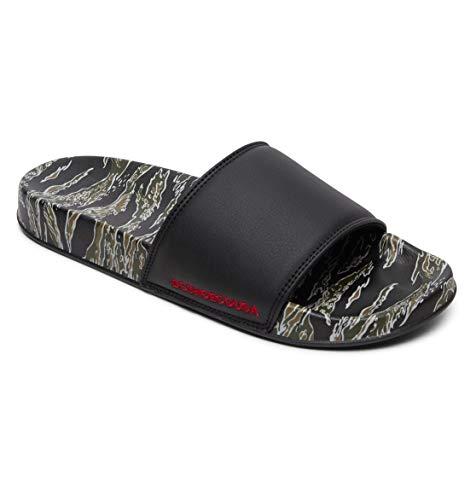 DC Shoes DC SE - Leather Slides Sandals for Men - Badeschuhe - Männer