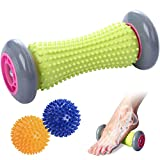 TOBREFE Plantar Fasciitis Foot Roller Massage for Back Pain and Deep Tissue Trigger