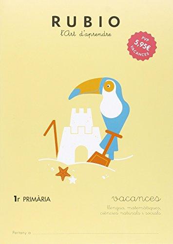 VACANCES - 1ER PRIMARIA - 9788415971924 (Vacances RUBIO (català))