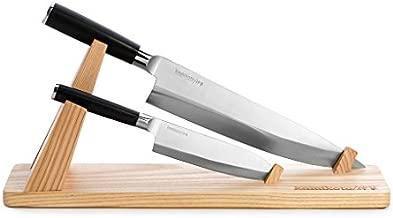 Kamikoto - Senshi Dual Knife Set with Wooden Display Stand