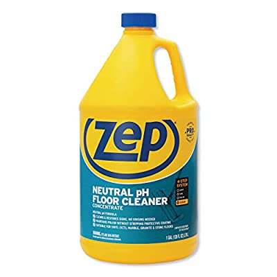 Zep Commercial Neutral Floor Cleaner Concentrate, Fresh Scent, 1 gal Bottle